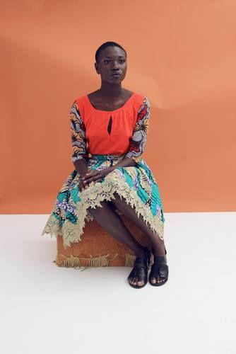 Nigerianische Modemarke DESIGN FOR LOVE präsentiertFrühjahr/Sommer 2014 Pop Art Kollektion.---Nigerian fashion brand DESIGN FOR LOVE presents Spring/Summer 2014 Pop Art Collection Credit:fabmagazineonline.com