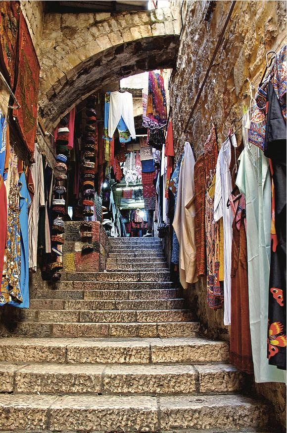 Jerusalem...walk the steps to freedom and awareness and wake up to your true self.TWA