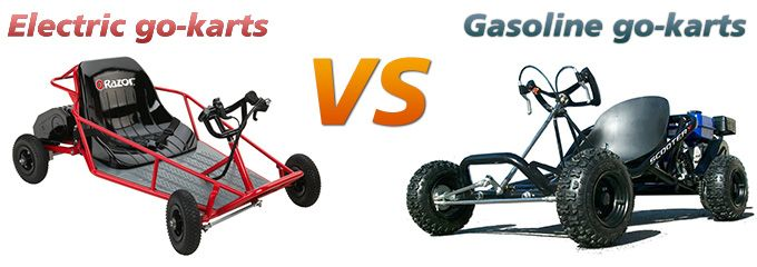Electric go-karts vs gasoline go-karts