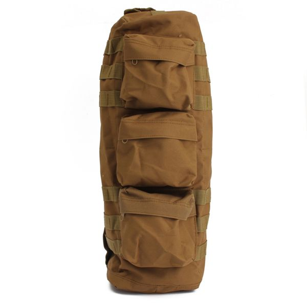 Military Camouflage Outdoor Mountaineering Camping Fishing Nylon Crossbody Bags