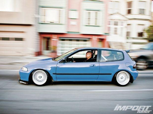 1995 Honda Civic DX JDM Thin Side Moldings