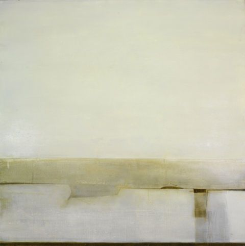 Clare Wilson, Pearl II, Oil on canvas, 150x150cm, 2006.
