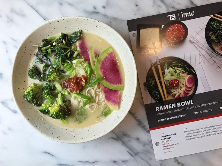 By now you've probably heard of Tom Brady's very strict diet, the TB12 diet. He's partnered up with meal delivery service Purple Carrot and they now offer the TB12 meal plan at $78/week, for 3 meals (2 servings each). I've been wanting to try a meal plan service for quite a while, but because Sam followsContinue reading