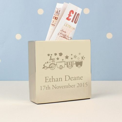 30 best personalised baby gifts images on pinterest personalised train square money box personalised baby giftstrainmoney negle Gallery