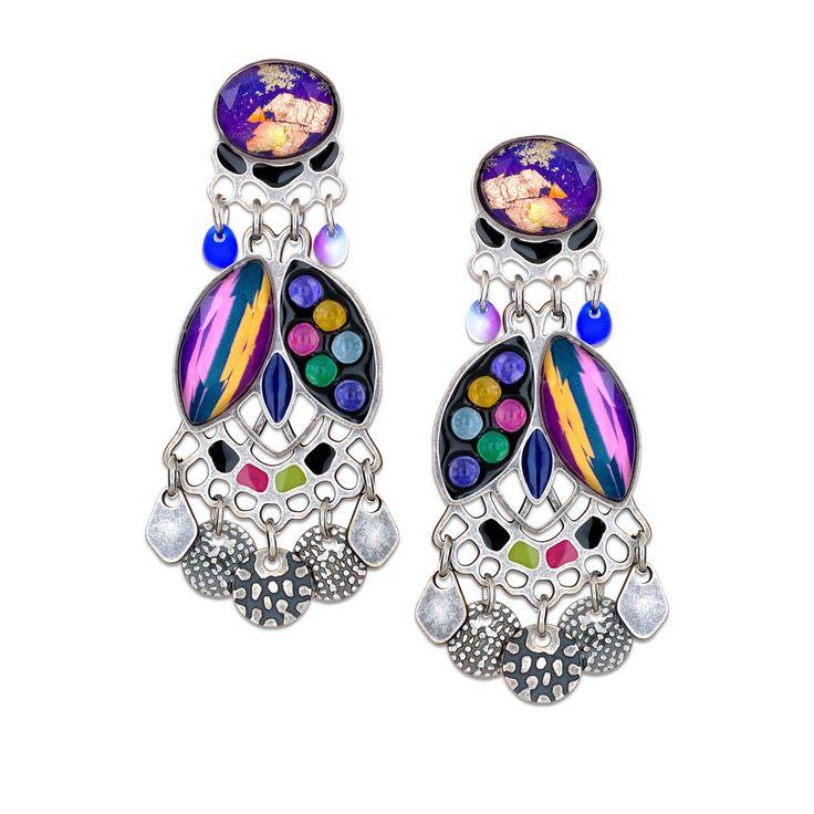 Artazia - Dashing Fata Morgana Earrings Lovingly Designed Yoolie's, $99.95 (http://www.artazia.com/jewelry-by-type/earrings/yoolies-fall-2016-earrings-fat-morgana-color-group-1618603/)