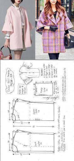 Easy jacket scheme. Simple pattern.