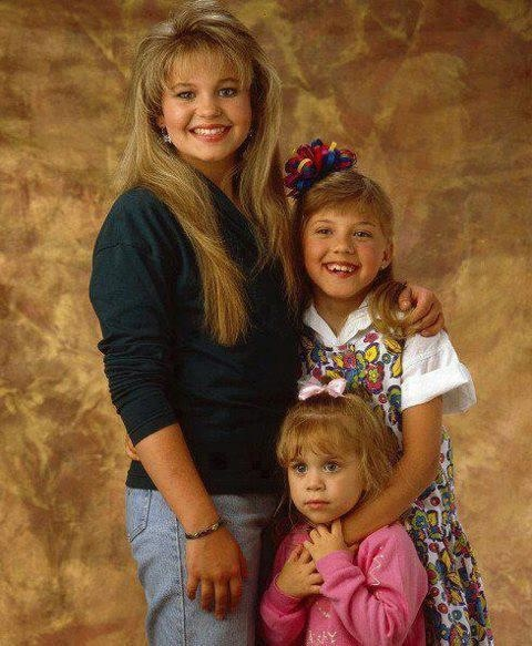 Candace Cameron as D.J. Jodie Sweetin as Stephanie Mary ...