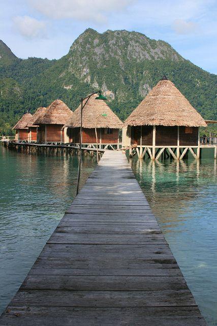 Ora Beach Resort in Maluku Islands, Indonesia (by vika rahma)