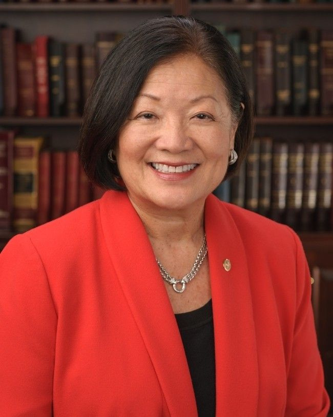 Mazie Hirono of Hawaii:  Update, Wednesday, Jul 26, 2017 · 8:49:51 PM +00:00 · Karen Wehrstein Thanks to Kossack Straights of Dire, Rachel Maddow's email address:  Rachel@msnbc.com .   Email her! She got no standing ovation.  She got no mainstream media lauds for...