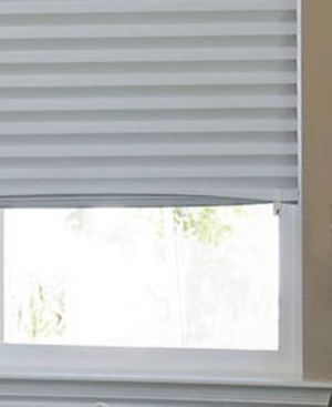 Easy Installation! Redi Shade Temporary Room Darkening Shades, Set of 6 - Gray