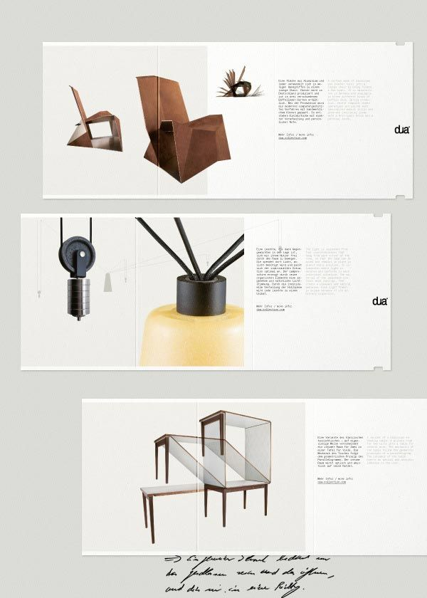 Furniture Catalogue & Brochure Designs