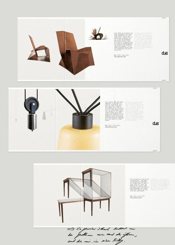 Furniture Catalogue & Brochure Designs