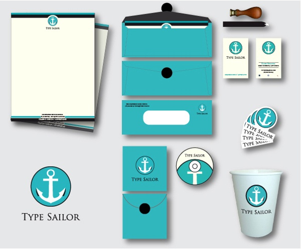Type Sailor Stationery