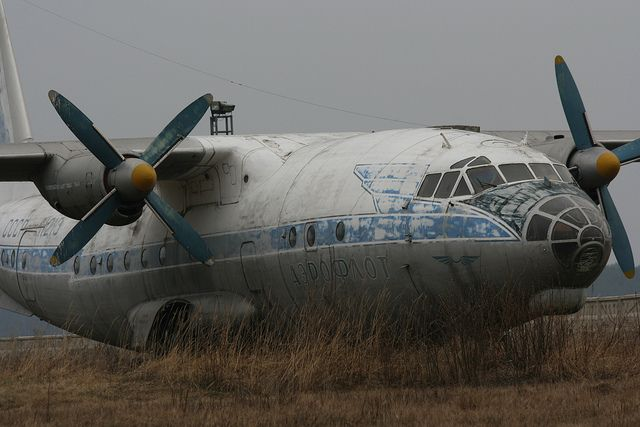 abandoned planes | Russian Abandoned plane | Flickr - Photo Sharing!