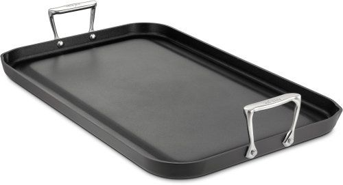 All-Clad 3020 Hard Anodized Aluminum Nonstick Double Burner Grande Griddle Specialty Cookware, 13 by 20-Inch, Black All-Clad http://smile.amazon.com/dp/B00005AL8X/ref=cm_sw_r_pi_dp_X-KJub0D61VNH