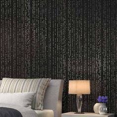 The Rain Allover Stencil is a modern stencil pattern that captures the beauty of nature. Via Cutting Edge Stencils  http://www.cuttingedgestencils.com/rain-stencil-pattern-modern-stencils-wallpaper-stencil-design.html