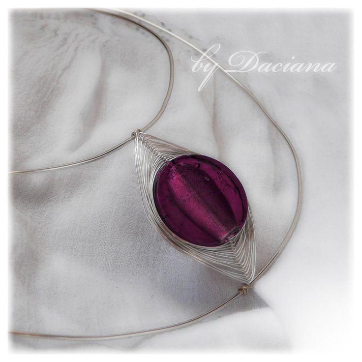 Murano -  impletit more at http://dacianadax.wordpress.com/category/colectii/murano-disc/
