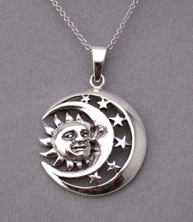 Completely new 9 best Celestial Sun Moon Necklaces images on Pinterest | Moon  GH27