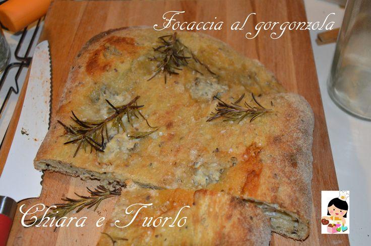 Focaccia zucchine e gorgonzola, con fleur de sel