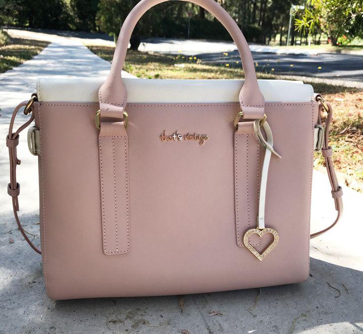 Nude handbag, nude and pearl handbag, saffiano leather, womens handbag