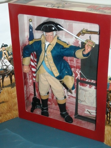G I JOE CLASSIC COLLECTION GEORGE WASHINGTON COMMEMORATIVE ...