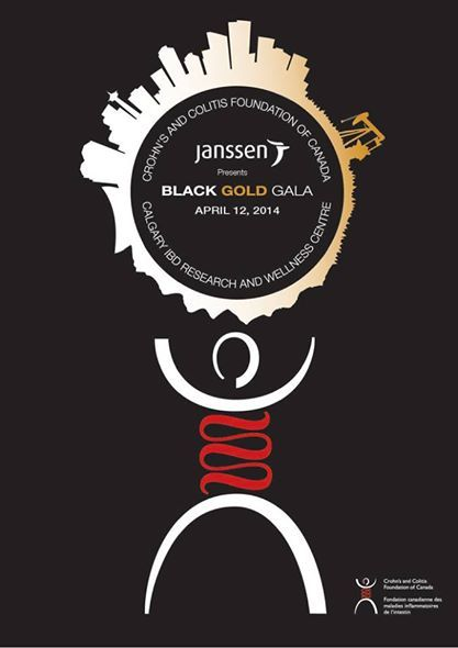 George's Cream Is A Proud Sponsor of Chron's and Colitis Canada 2014 Black and Gold Gala #blog