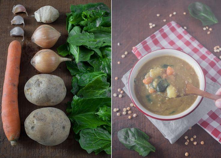 Grochówka po indyjsku / Yellow split pea soup indian way