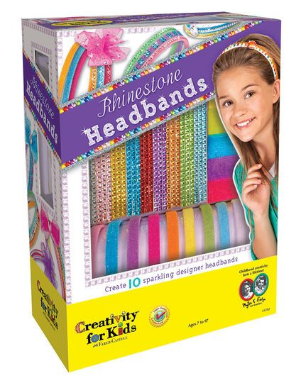 742 best images about kids crafts on pinterest kids for Creativity for kids fashion headbands craft kit