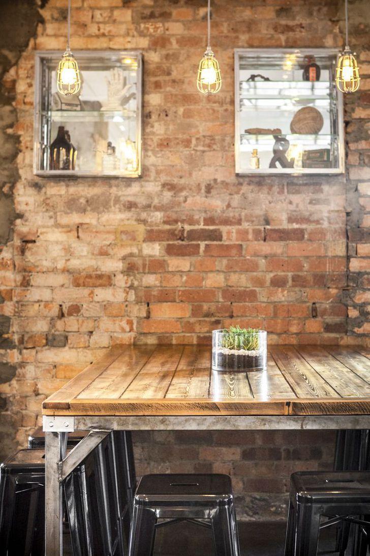 Industriële en rustiek - een café combinatie we houden (met koffie!)Karrottopdesign #Melbourne #Cafes