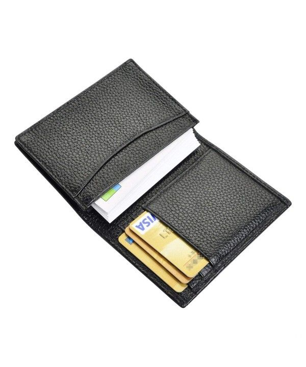 Men's Bags, Wallets, Business Card Case Genuine Leather Credit Cards Wallet Orga…