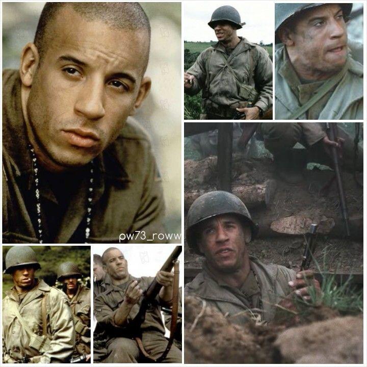 Vin Diesel In Soldat James Ryan Rescatando Al Soldado Ryan Cine Historia Del Cine