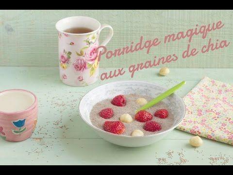 {❀ Vidéo ❀} Porridge magique aux graines de chia