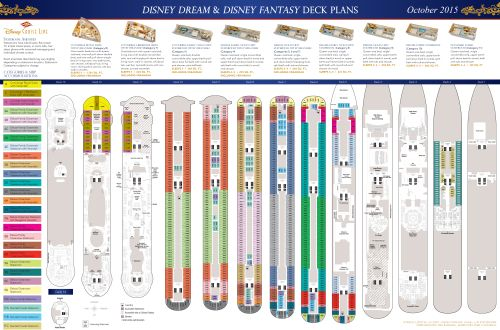 Deck Plans - Disney Dream & Disney Fantasy