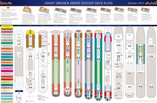 Deck Plans - Disney Dream
