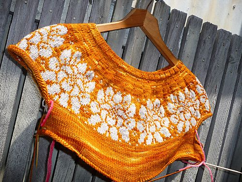 Ravelry: Marg3016's Floral Brocade