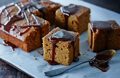 This gorgeous Guinness gingerbread can be whipped up in less than an hour.