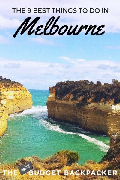 From epic food, to incredible nightlife and fantastic natural sites. Here are the 9 best things to do in Melbourne Australia... what to do in Melbourne / top things to do in Melbourne / things to do in Melbourne Australia / what's on in Melbourne / Things