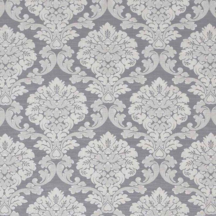 Warwick Fabrics : WINSLOW, Colour PEWTER