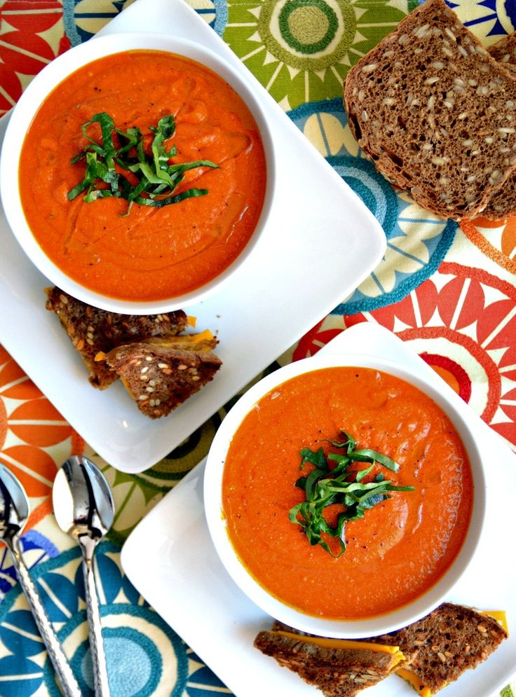 Vegan tomato soup, making this tonight because I have a million of them!