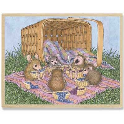 """""""Micey Nice Picnic"""" from House-Mouse Designs® (HMPR1071)"""