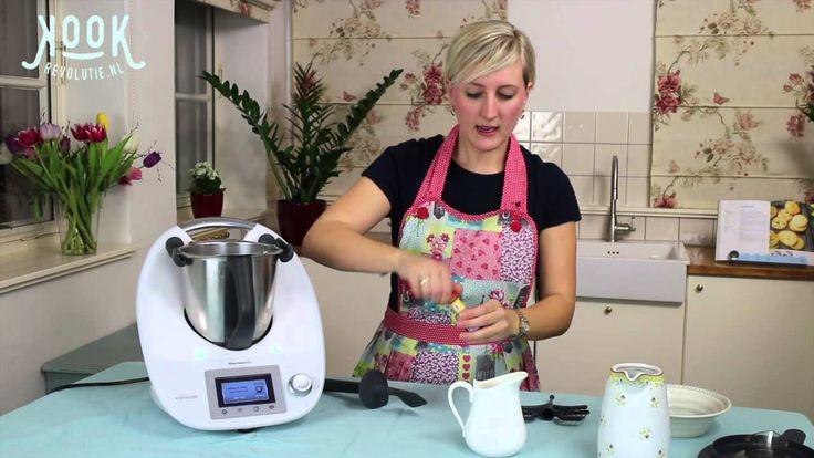 Vanille ijs met de Thermomix TM5 door kookrevolutie.nl