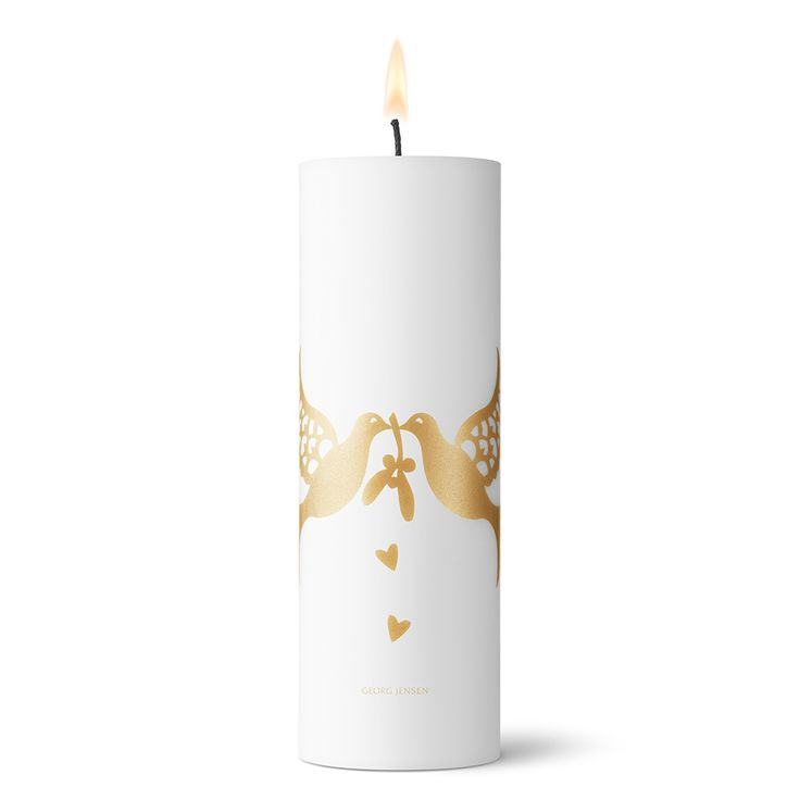 2014 Calendar Candle, Gold, Georg Jensen