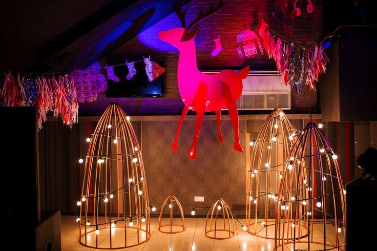 photozone, decor, light, decorator decor, winter party, Ciklum Kharkiv rocks at Winter Party, оформление мероприятий, корпоратив, декор мероприятий