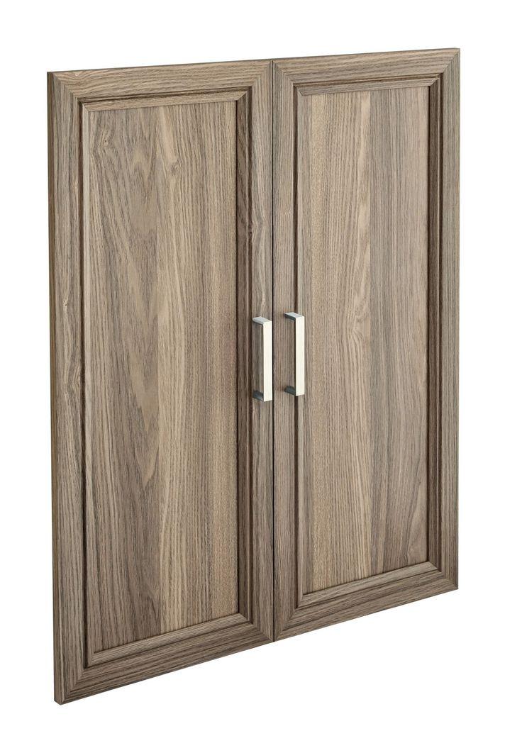 suitesymphony 2363 wide closet doors raised panel - Raised Panel Kitchen Decor