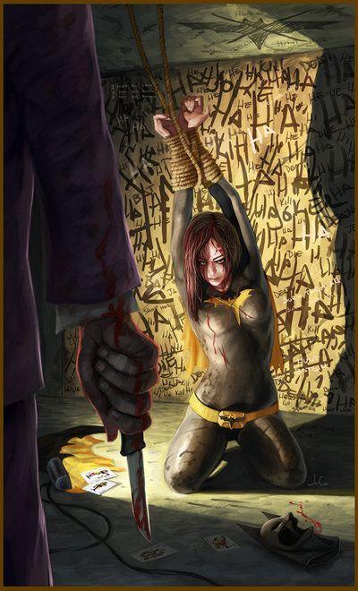 Batgirl vs. The Joker - Jesus Antonio Conde Galarraga