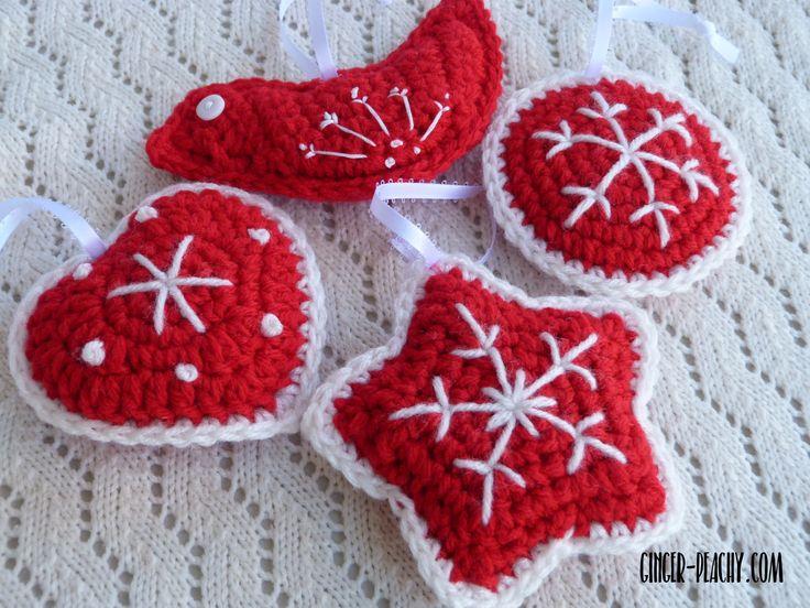 Mejores 52 imágenes de Christmas Crochet en Pinterest | Ganchillo ...