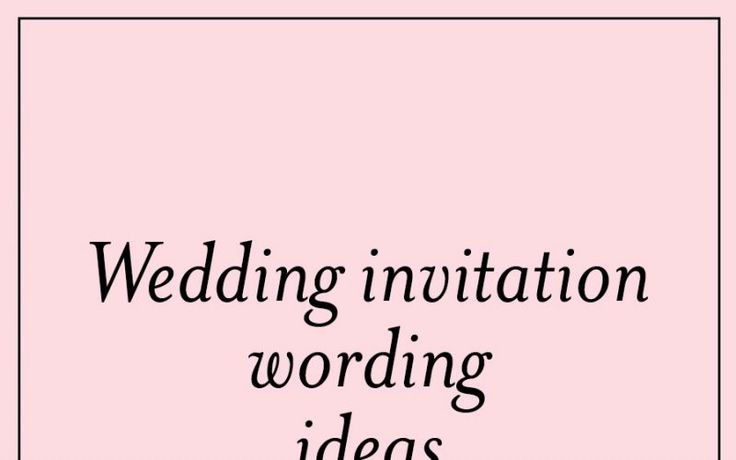 Unique Wedding Invitation Wording: Best 25+ Unique Wedding Invitation Wording Ideas On Pinterest