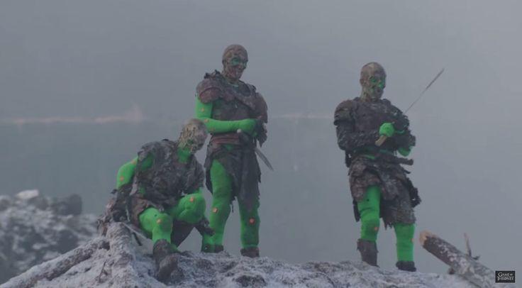 O inverno chegou: veja bastidores da batalha de Hardhome em Game of Thrones - TecMundo