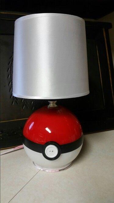 Diy pokeball lamp