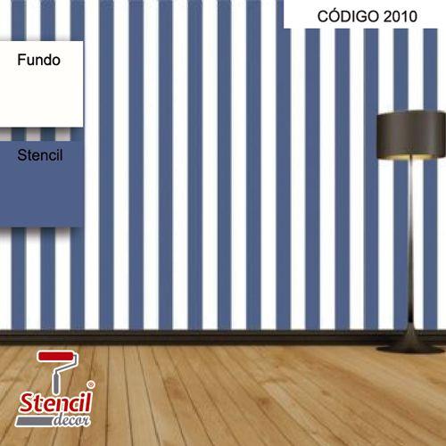 Listrado – Stencil Decorativo (molde para pintura)